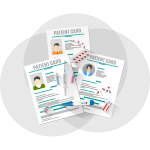 Patient Cards with medications